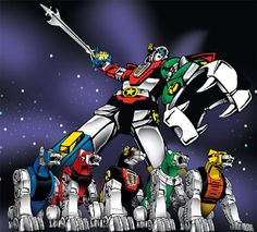 'Voltron' cartoon (1984-1985)