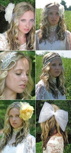 Bridal Accessories by Andria Bird