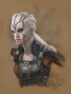 STAR TREK FAN @ TUMBLR — Star Trek Beyond: Jaylah by SteveDelamare