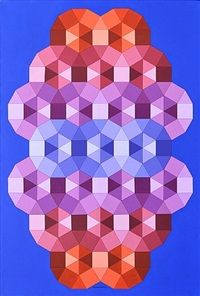 Victor Vasarely Tizienne 2                                                                                                                                                     Plus