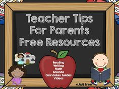LMN Tree: Teacher Tips for Parents: Free Resources