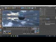 c4d tutorial | realistic ocean without plugins (easy and quick way) ... - YouTube