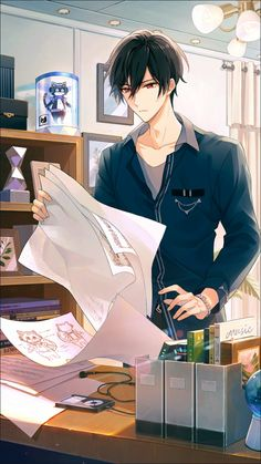 Cool Anime Guys, Hot Anime Boy, Handsome Anime Guys, Anime Love, Oc Manga, Manga Art, Anime Neko, Kawaii Anime, Photo Manga