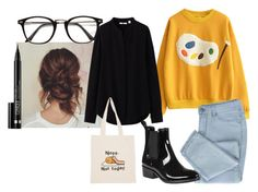 """""""26"""" by hermanrizek on Polyvore featuring Jeffrey Campbell, Uniqlo and Clinique"""