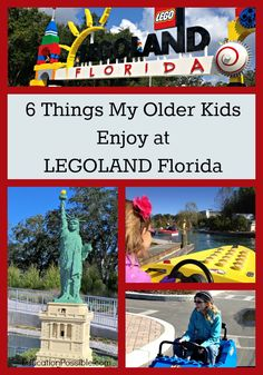 6 Things My Older Kids Enjoy at LEGOLAND Florida via @Education Possible - Not Disney but in the area