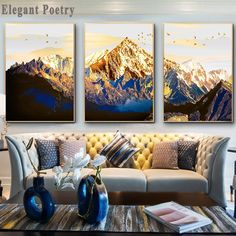 """""""Golden Abstract Snow Mountain Landscape Map Canvas Painting Art Print Poster Picture Wall  Nordic Decorative Picture Home Decor"""" Map Canvas, Abstract Canvas Art, Canvas Prints, Art Prints, Cheap Paintings, Home Decor Paintings, Poster Price, Poster Pictures, Mountain Landscape"""