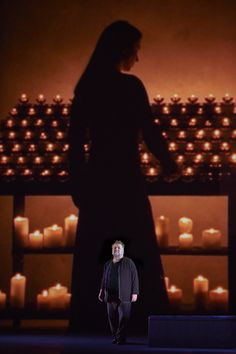 Ben Heppner as Tristan in the Canadian Opera Company's production of Tristan und Isolde, 2013    Photo Credit: Michael Cooper