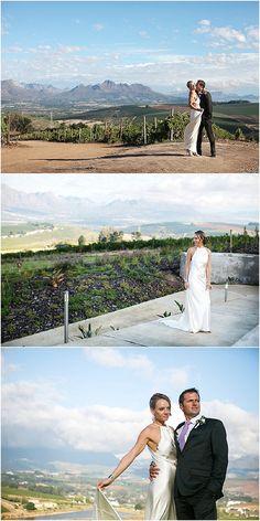 bridal couple at Landtscap