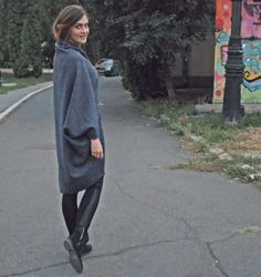 Cardigan Blue Grey Blue Grey, Normcore, Autumn, Collection, Style, Fashion, Moda, Fall, La Mode