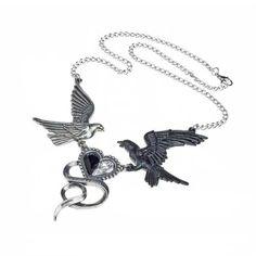 Epiphany Of St. Corvus ketting tin - Fantasy Gothic - Alchemy Gothic