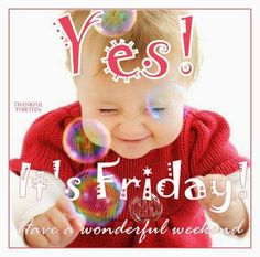 it's Friday! So looking forward to the long weekend with friends & family ❤️ Yes.it's Friday! So looking forward to the long weekend with friends & family ❤️ Friday Yay, Good Morning Friday, Good Morning My Friend, Friday Meme, Hello Friday, Friday Weekend, Good Morning Good Night, Good Morning Wishes, Happy Weekend