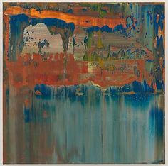 Richter Abstract Painting (906-8), 2008,15 3/4 x 15 3/4 in. ( 40 x 40 cm ) Image