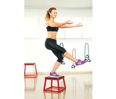 At-Home Workout to Tone All Over: Try the 'Box Butt Lifter' to work butt, abs, and thighs! #SelfMagazine