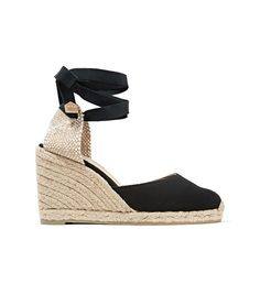 The Shoes We're Not Wearing This Summer via @WhoWhatWear CASTAÑER Carina canvas wedge espadrilles