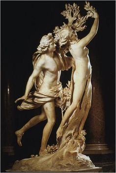 Bernini's Daphne and Apollo sculpture, Galleria Borghese, Rome
