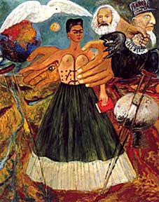Marxism Will Give Health to the Sick - Frida Kahlo. Oil on panel. 1954.