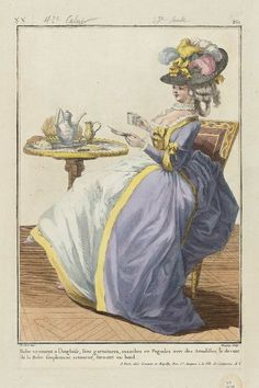 Tea and lots of outfit. <3