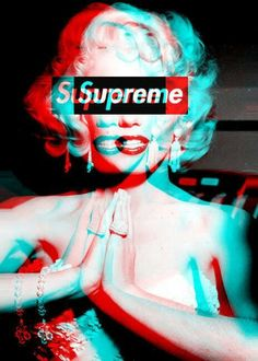 #Supreme | #BraskoDesign Marilyn m.