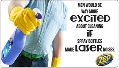 Do you agree? We're just sayin' Cleaning Humor, Spring Cleaning, Spray Bottle, Airstone