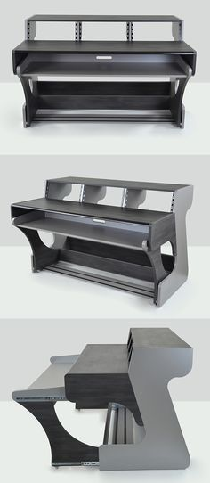 Studio Desk Inspiration - Rolling Keyboard Desk