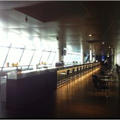 The world's longest attended lounge bar @ Zurich airport