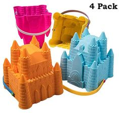 Sandcastle set Sand Toys, Water Toys, Tour Eiffel, Pail Bucket, Large Beach Bags, Beach Bucket, Beach Toys, Beach Games, Pool Accessories