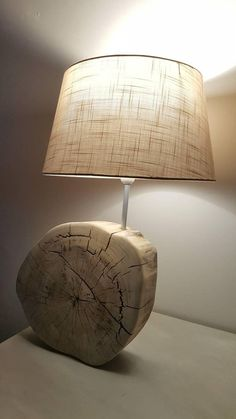 Large Driftwood table lamp made this beautiful oval cracked
