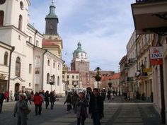 Lublin, Poland  My bank is actually to the left of this picture. HA
