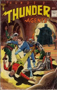 THUNDER AGENTS 4 SILVER AGE TOWER COMICS