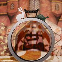 The Tortoise & The Hare Acrylic 3 Bracelet Set