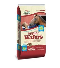 Manna Pro Wafers Horse Treats Apple