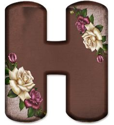Floral Font, Minnie Png, Flower Alphabet, Name Art, Flower Art, Scrapbook, Letters, Flowers, Pink
