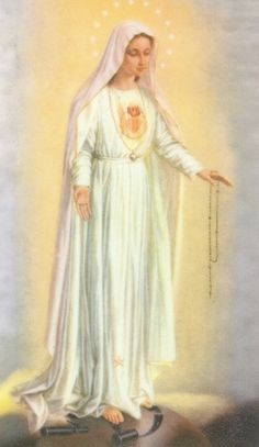 Our Lady of Fatima, pray for us! Mother Of Christ, Bride Of Christ, Blessed Mother Mary, Divine Mother, Blessed Virgin Mary, Catholic Relics, Catholic Saints, Madonna, Mother Mary Pictures