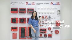 Conventional fire alarm control system