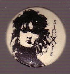 Button - Siouxsie Sioux