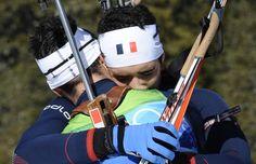 21 février 2010 - départ en ligne 15km JO Vancouvert Médaille d' argent