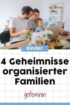 So machen die das! 4 Geheimnisse organisierter Familien #mamasuntersich #familienalltag #alltagorganisieren #kommandozentrale