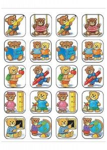 Teacher Created Resources School Bears Stickers, Multi Color 120 Self-Adhesive stickers per pack. Great for incentives and decorations. Kindergarten Crafts, Kindergarten Classroom, School Classroom, Bon Point, Puppet Crafts, Teacher Created Resources, Kids Stickers, Play To Learn, Album