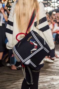 Spring 2017 Runway Report, Favorites #handbags #accessories #springfashion ; Tommy Hilfiger