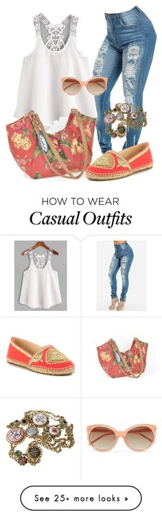 """""""Casual"""" by alice-fortuna on Polyvore featuring Vince Camuto, Chanel and Linda Farrow"""