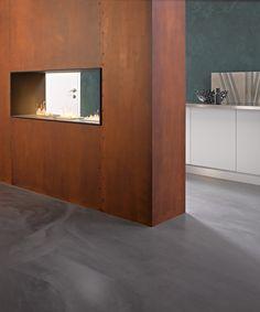 Bildergebnis für rostwand Loft, Guest Room, Industrial, Cabinet, Storage, Furniture, Corridor, Home Decor, Notes
