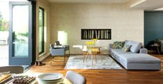 Cube Glacier Blue Modular Sofa, Right Arm Home Design Decor, House Design, Interior Design, Interior Ideas, Design Ideas, Home Decor, White Ottoman, Small Bedroom Furniture, Scandinavian Furniture