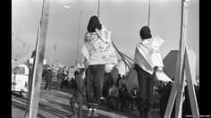 Two people who had been executed at Benghazi sea port, 7 April 1977