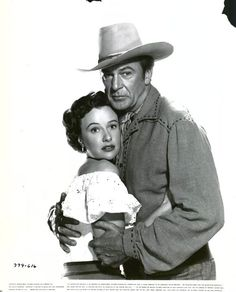 SPRINGFIELD RIFLE (1952) - Gary Cooper - Phyliss Thaxter - Directed by Andre de Toth - Warner Bros. - Publicity Still.