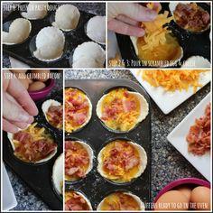 Easy Egg Breakfast Muffins #breakfastideas #eggs #mcmuffins