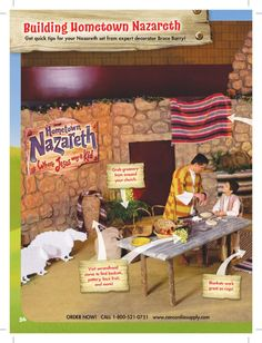 ISSUU - Hometown Nazareth VBS Catalog by Danny B...love those cut out sheep :)