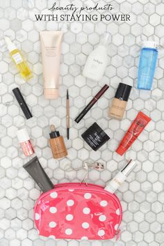 my beauty products with staying power
