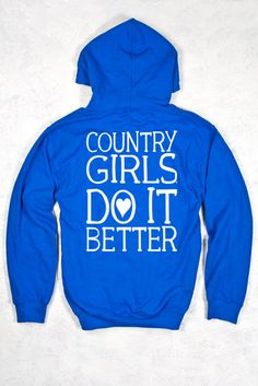 Women's Country Girls™ Do it Better Relaxed Pullover Hoodie