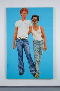 Barkley L. Hendricks ::  Hasty Tasty, 1977 oil and acrylic on linen canvas 72 x 48 inches