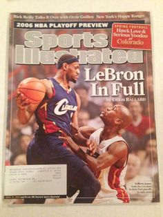 april 24 2006 sports illustrated lebron james cleveland cavaliers nba from $1.25